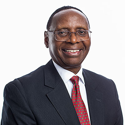 Wilfred Kiboro - EBS, Chairman of the Board