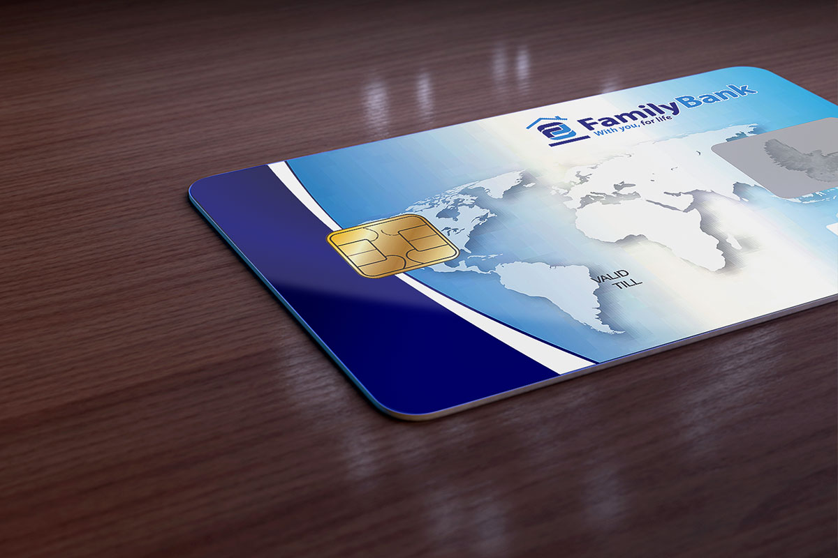 Family Bank Visa Credit Card