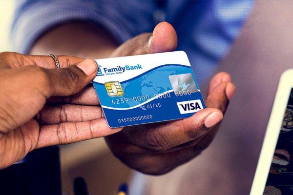 Family Bank Visa Debit Card