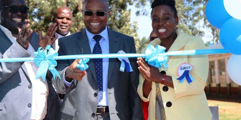 Godfrey Kamau & Jacqueline Mathaga commissions opening of autism centre